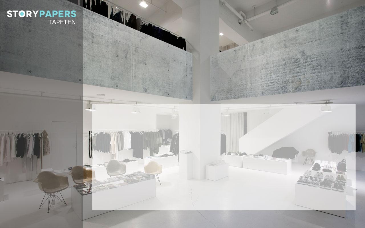 betontapete aus echtem beton tapete guido maria kretschmer beton grau ana wand pinterest guido. Black Bedroom Furniture Sets. Home Design Ideas